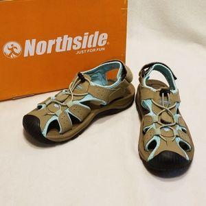 Women's Northside Trinidad Closed Toe Sandal SZ 6
